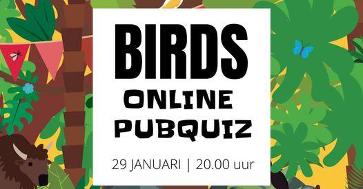 Birds online pub quiz