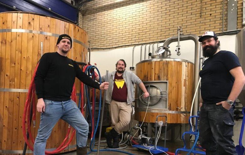 Walhalla tweede bier BeerGeeksBeatALS gebrouwen
