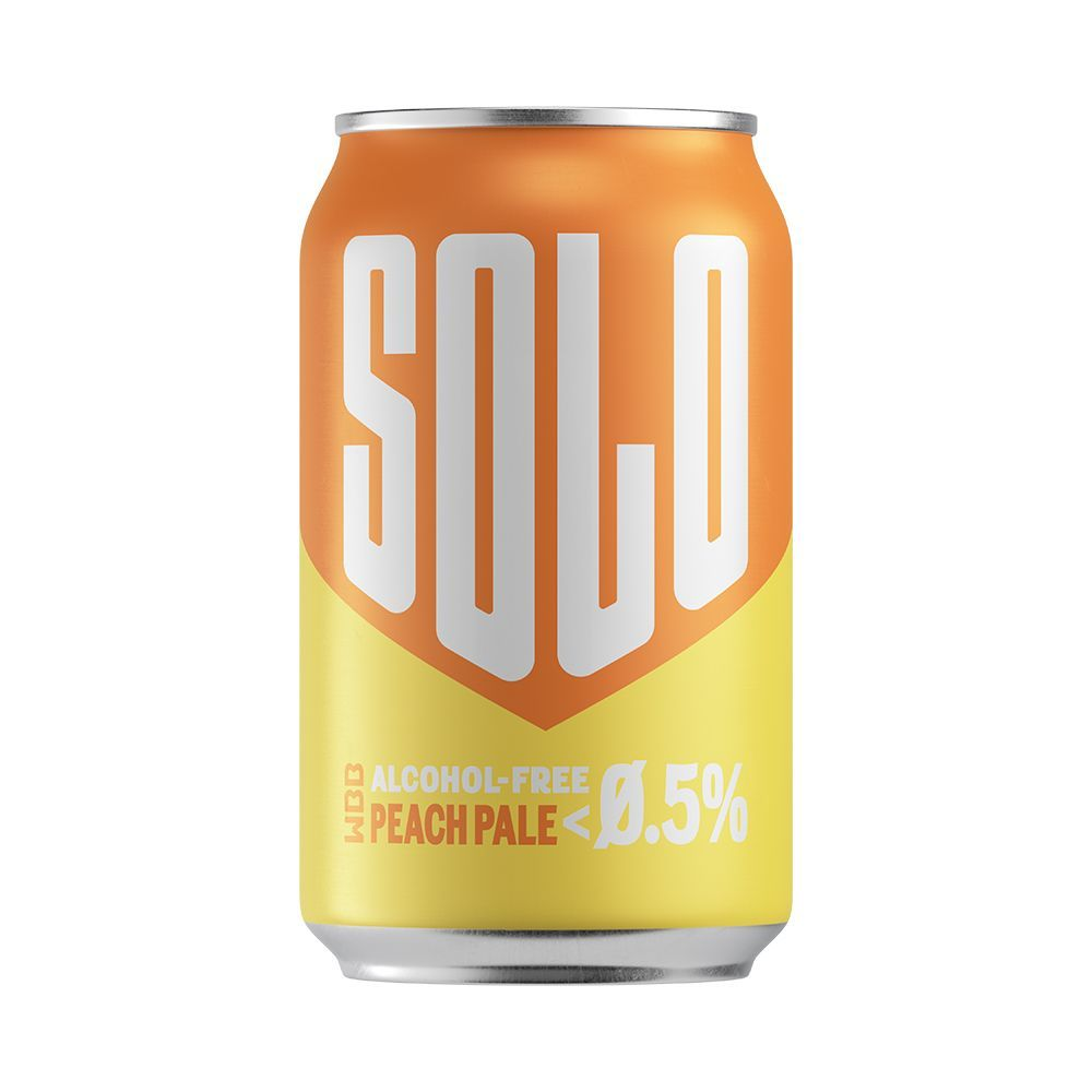 West Berkshire Brewery - Solo Peach Ale 0.5%