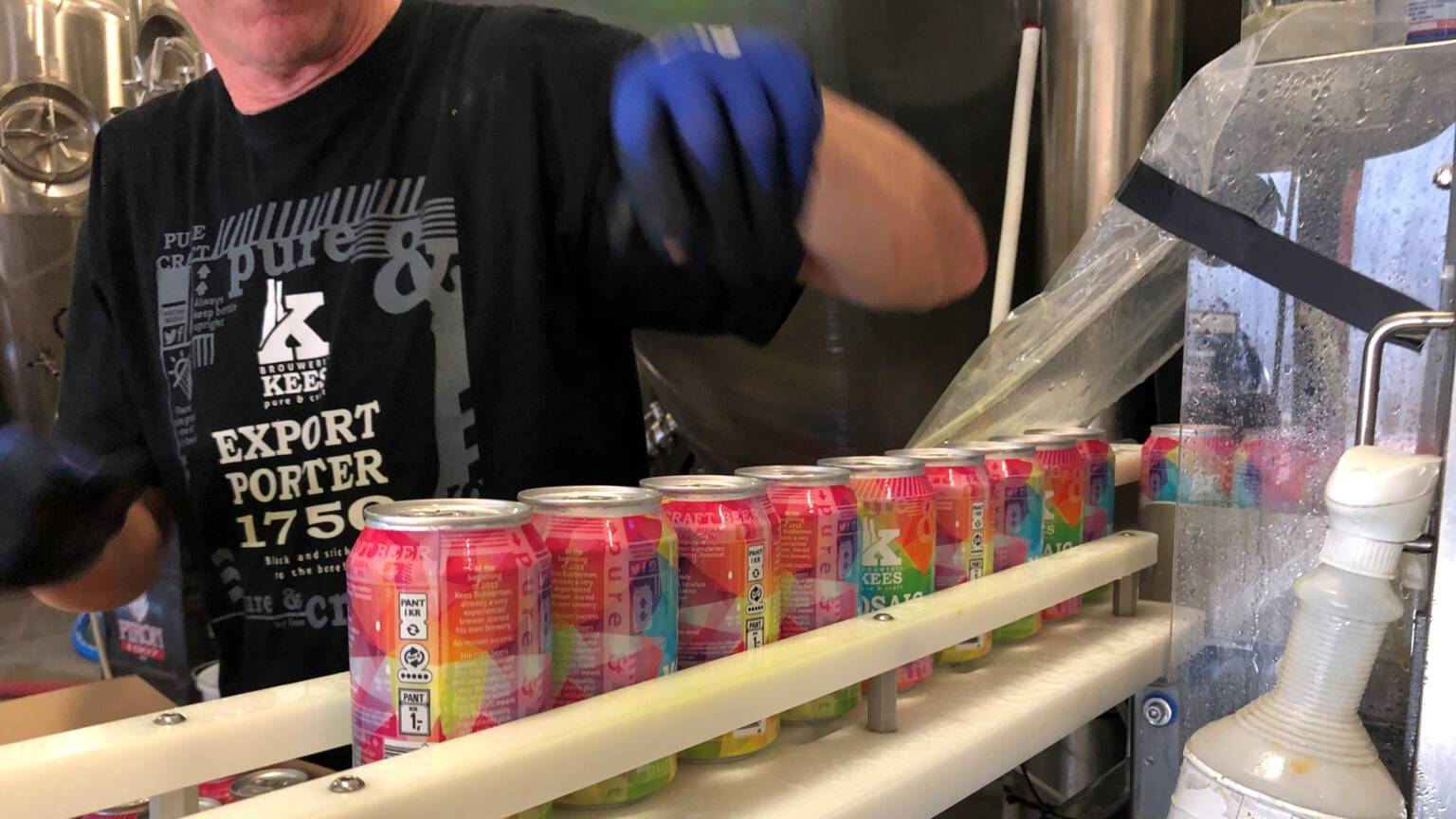 Canning Line Brouwerij Kees in Middelburg