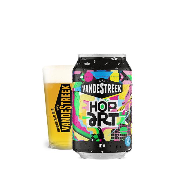 VandeStreek Bier Hop Art