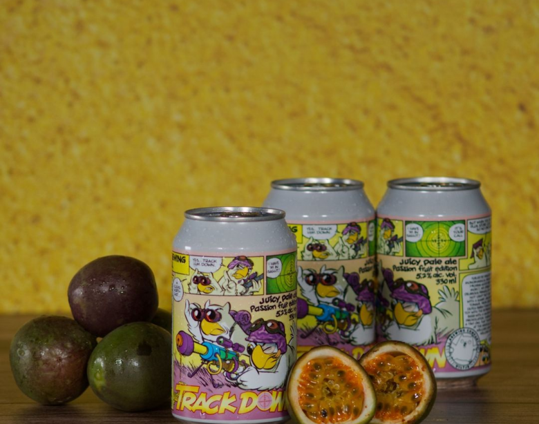 Uiltje Brewing Company Trackdown Passion Fruit Edition