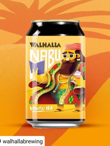 Walhalla Nabu Mango IPA