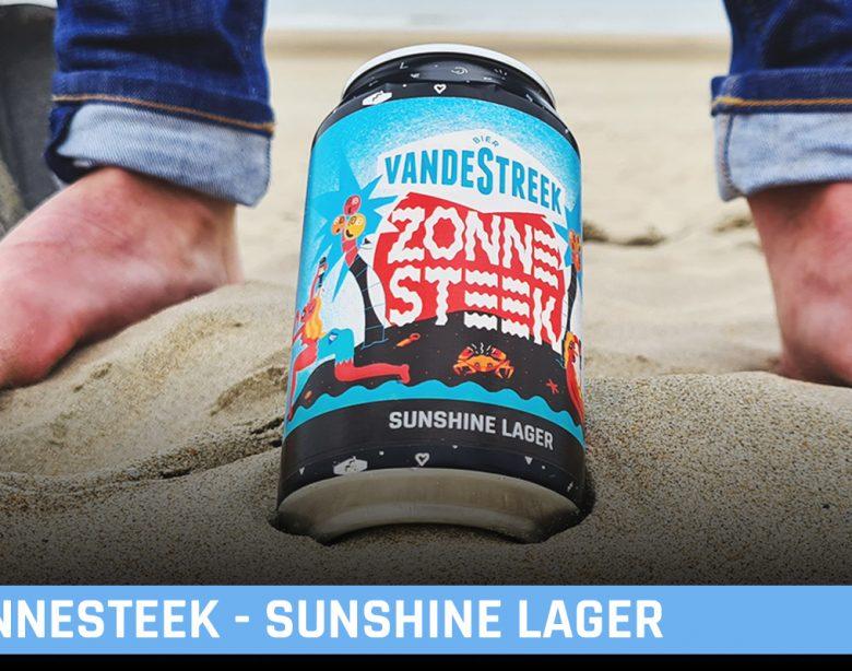 VandeStreek Bier Zonnesteek Sunshine Lager