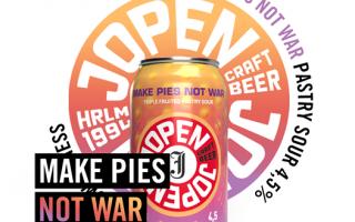 Jopen Bier Make Pies Not War