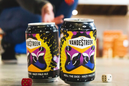 VnadeStreek Bier Roll the Dice