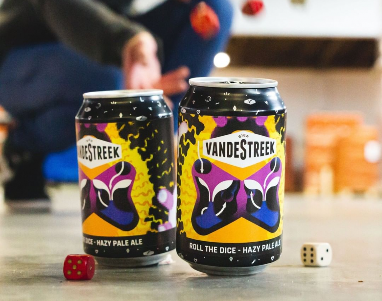 VnadeStreek Bier Roll the Dice